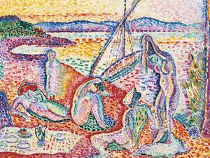 Luxe, Calme et Volupte - Luxury, Calm, and Vuluptuousness by Henri Matisse