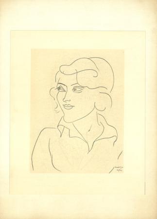 Mlle Annelies Nelck by Henri Matisse