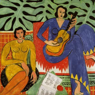 Music, c.1939 by Henri Matisse