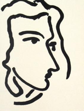 Nadia Regardant A Droite, Femme III by Henri Matisse