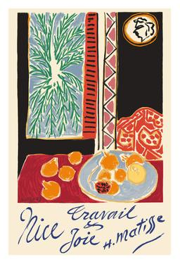 Nice, France - Travail et Joie (Work and Joy) - Still Life with Pomegranates by Henri Matisse