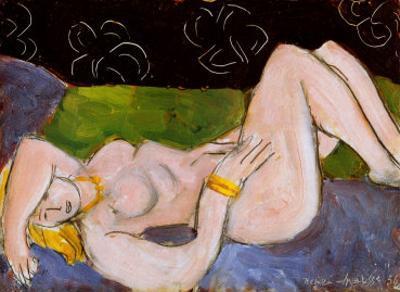 Nu Allonge by Henri Matisse