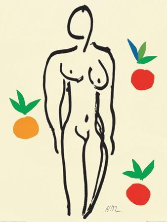 Nu Aux Oranges by Henri Matisse