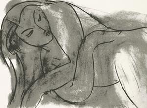 Nu, c.1941 by Henri Matisse
