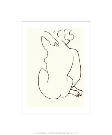 Nu, c.1949 by Henri Matisse