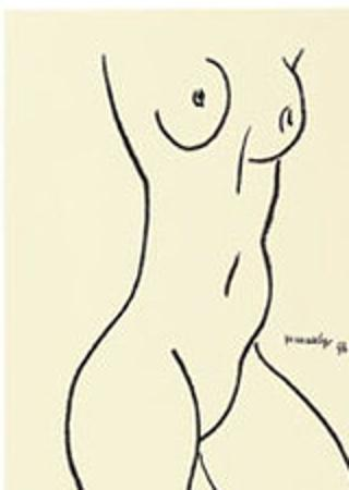 Nu, c.1952 by Henri Matisse
