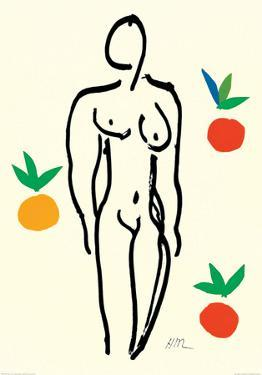 Nude with Oranges by Henri Matisse