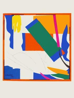 Papiers Decoupes - Souvenir Doceanie by Henri Matisse