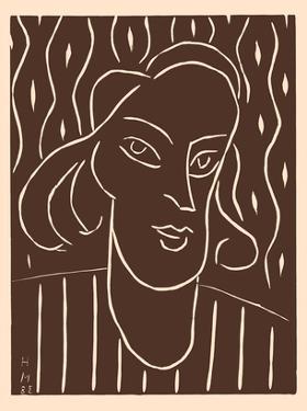 "Portrait of a Woman -  Alexina ""Teeny"" Duchamp by Henri Matisse"