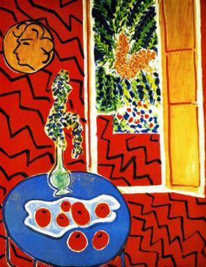 Red Interior by Henri Matisse