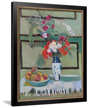 Still Life, Flowers and Fruit by Henri Matisse