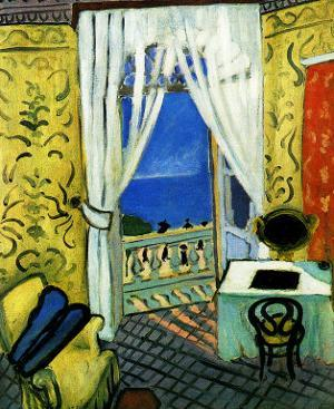 Still Life with Violin Case by Henri Matisse