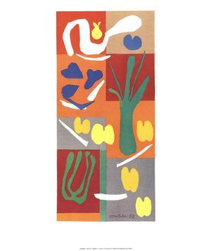 Vegetables by Henri Matisse