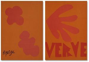 Verve - Couverture by Henri Matisse
