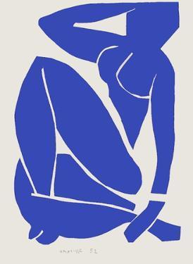 Verve - Nu bleu X by Henri Matisse