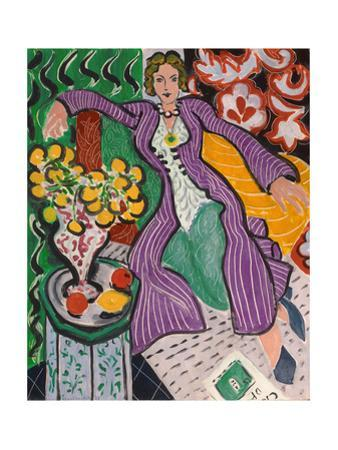 Woman in a Purple Coat, 1937 by Henri Matisse