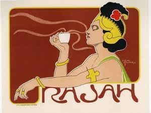 Rajah Coffee, 1897 by Henri Meunier