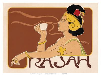 Rajah Coffee Art Nouveau, La Belle Époque