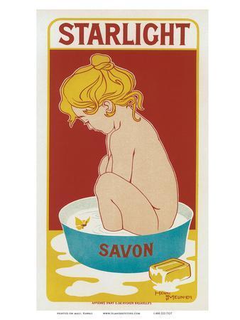 Starlight Savon, Art Nouveau, La Belle Époque