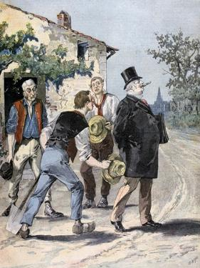 After the Election, 1893 by Henri Meyer
