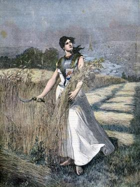 Allegory of France, 1891 by Henri Meyer