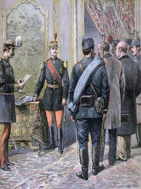 Coup D'Etat in Serbia, 1893 by Henri Meyer