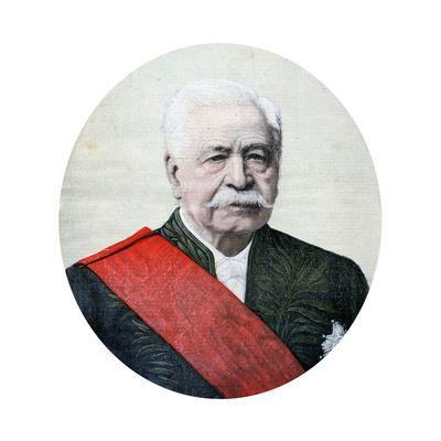 Ferdinand De Lesseps, French Diplomat and Entrepreneur, 1894