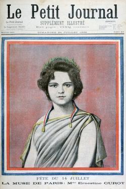Mlle Ernestine Curot, 1898 by Henri Meyer