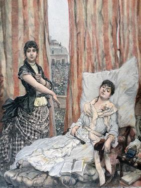 Morphiamania, 1891 by Henri Meyer
