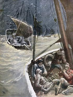 Newfoundland Fishermen, 1892 by Henri Meyer