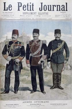 Ottoman Army, 1895 by Henri Meyer
