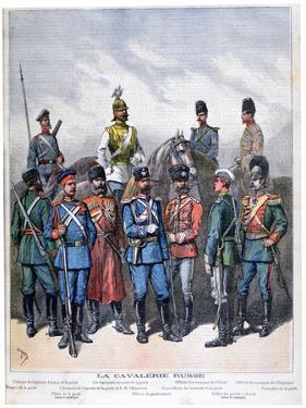 Russian Cavalry, 1892 by Henri Meyer