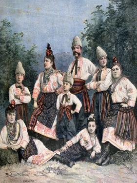 Russian Singers, 1891 by Henri Meyer