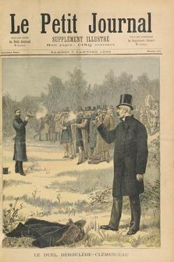 The Duel Between Paul Deroulede (1846-1914) and Georges Clemenceau (1841-1929) Illustration from 'L by Henri Meyer