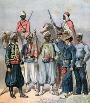 The French Colonial Forces, 1891 by Henri Meyer