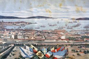 The Port of Toulon, 1893 by Henri Meyer