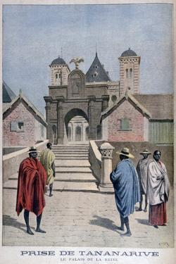 The Queen's Palace, Tananarive, Madagascar, 1897 by Henri Meyer