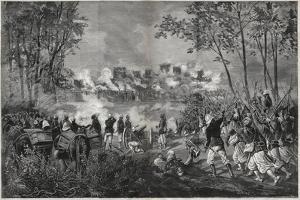 The Taking of Segou-Sikoro, 1890 by Henri Meyer