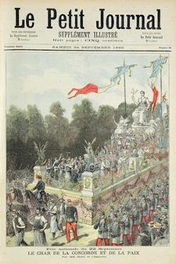 Title Page Depicting the National Holiday on 22nd September Celebrating the Centennial of the Procl by Henri Meyer