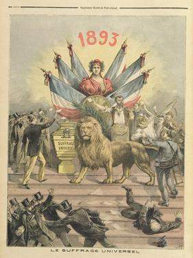 Universal Suffrage from the Supplement of 'Le Petit Journal', 19th August 1893 by Henri Meyer