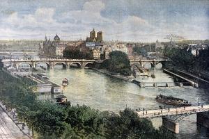 View of Paris, 1892 by Henri Meyer