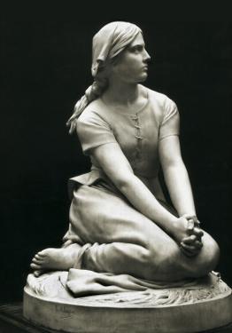 Joan of Arc (1412-31) at Domremy (Jeanne D'Arc À Domrémy) by Henri Michel Antoine Chapu