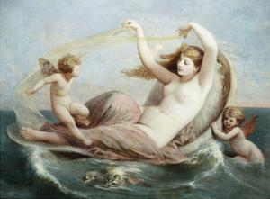 The Birth of Venus by Henri Pierre Picou