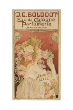 Eau De Cologne Perfumerie, 1899 by Henri Privat-Livemont