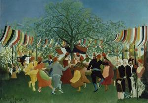 A Centennial of Independence, 1892 by Henri Rousseau