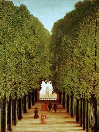 Alleyway in the Park of Saint-Cloud, 1908 by Henri Rousseau