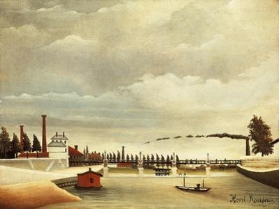 Banks of Seine by Henri Rousseau