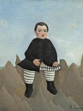 Boy on the Rocks, 1895-97 by Henri Rousseau