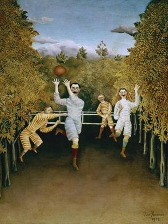 Football Players by Henri Rousseau
