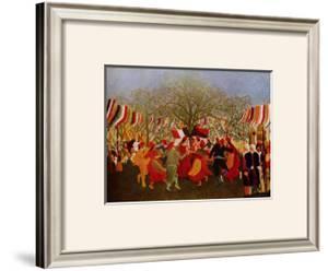 Hundert Jahre Freiheit by Henri Rousseau